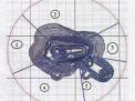 Эффективность схем вскрытия карьера мурунтау с использованием подземных выработок при переходе к v очереди развития